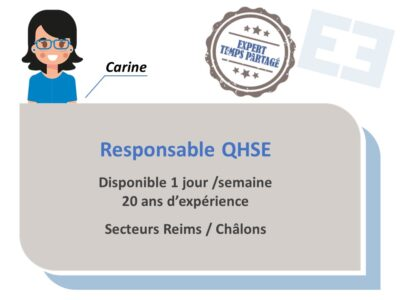 Carine - Responsable QHSE