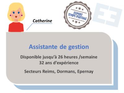 Catherine - Assistante de gestion