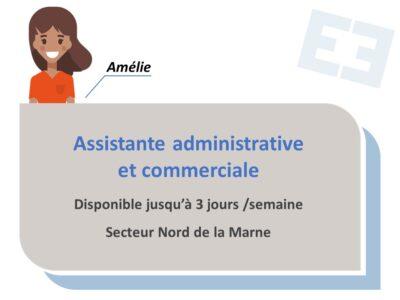 Amélie - Assistante administrative et commerciale