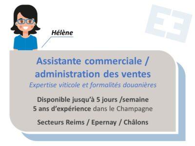 Hélène - Administration des Ventes