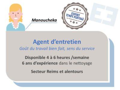 Manoucheka - Agent d'entretien