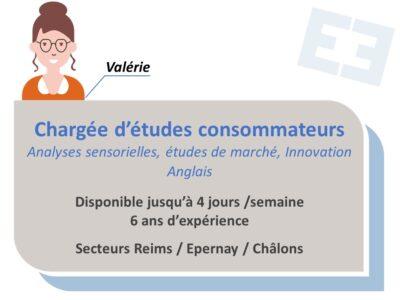 Valérie - Chargée d'études consommateurs