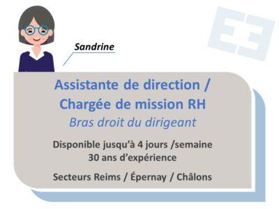 Sandrine - Assistante de direction / Chargée de mission RH