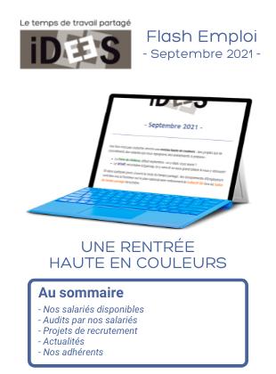 Sommaire : Flash Emploi - Septembre 2021